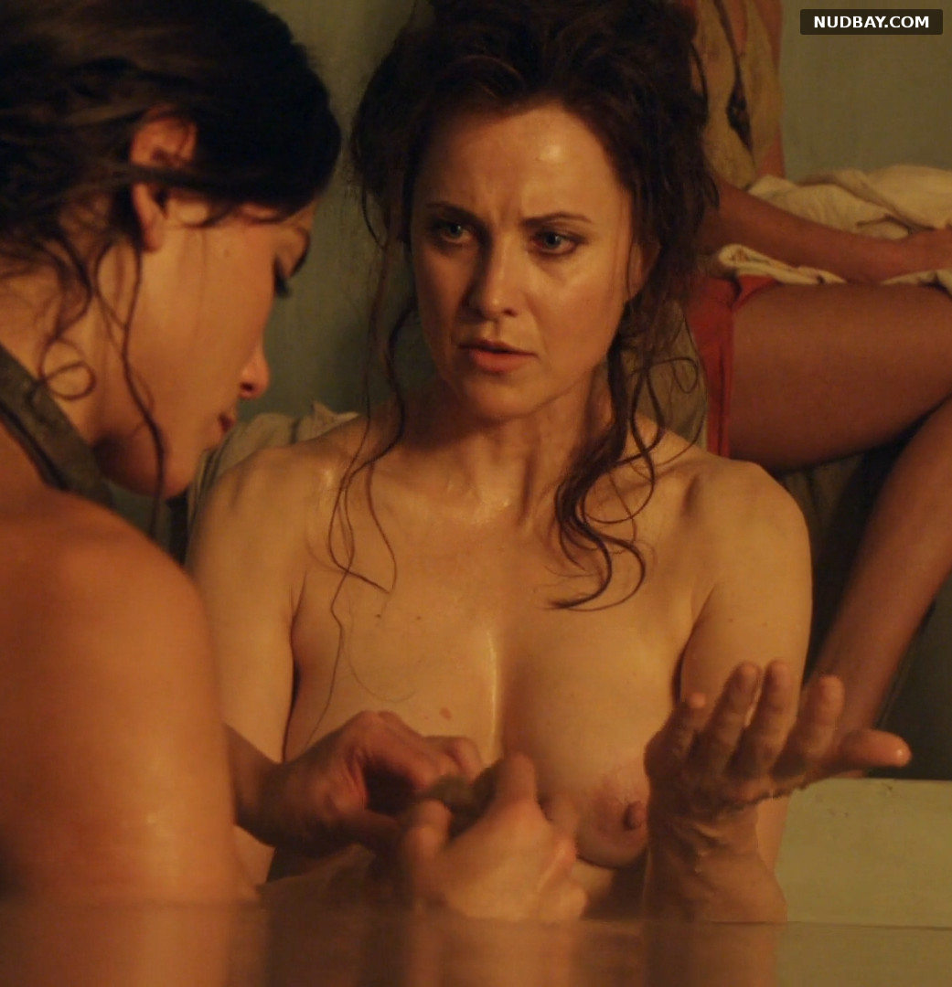 Lucy Lawless nude in Spartacus Vengeance E1 (2012)