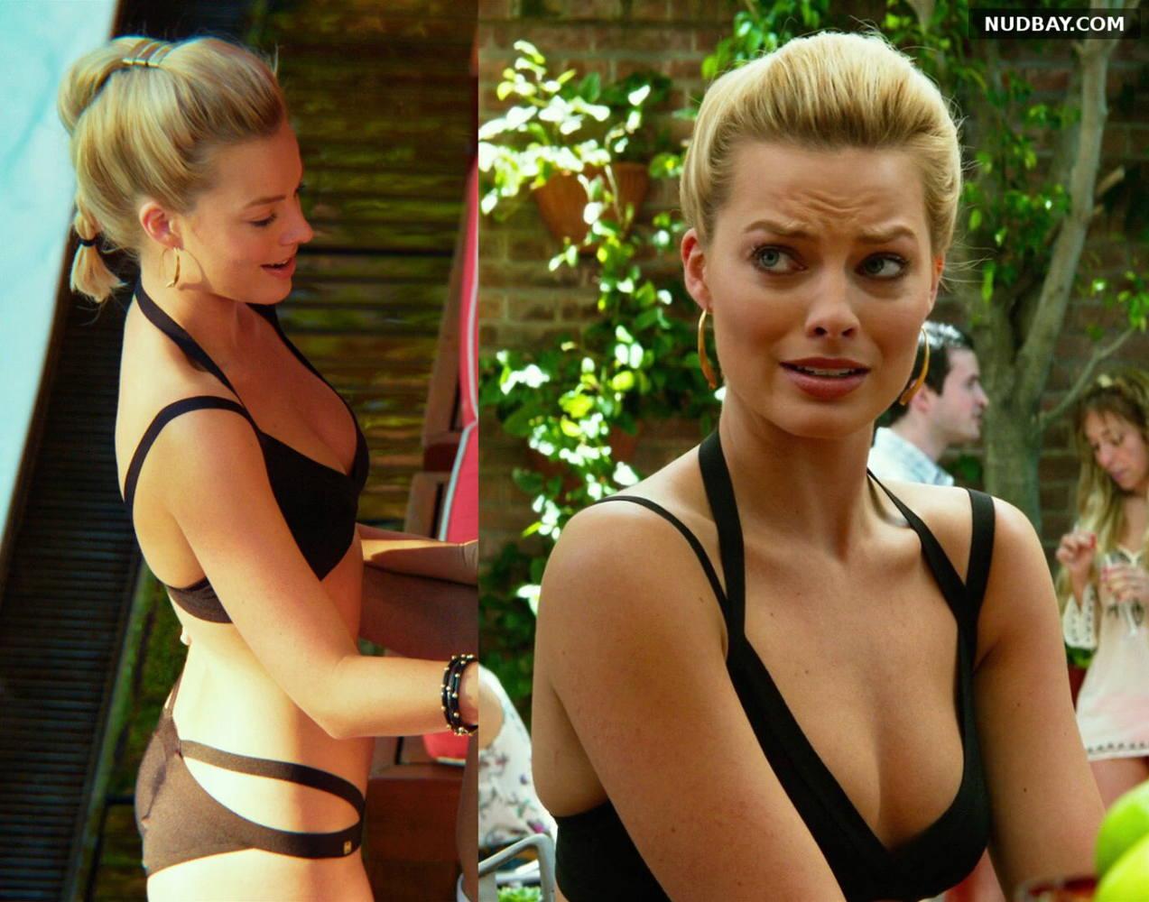 Margot Robbie sexy bikini - Focus (2015)