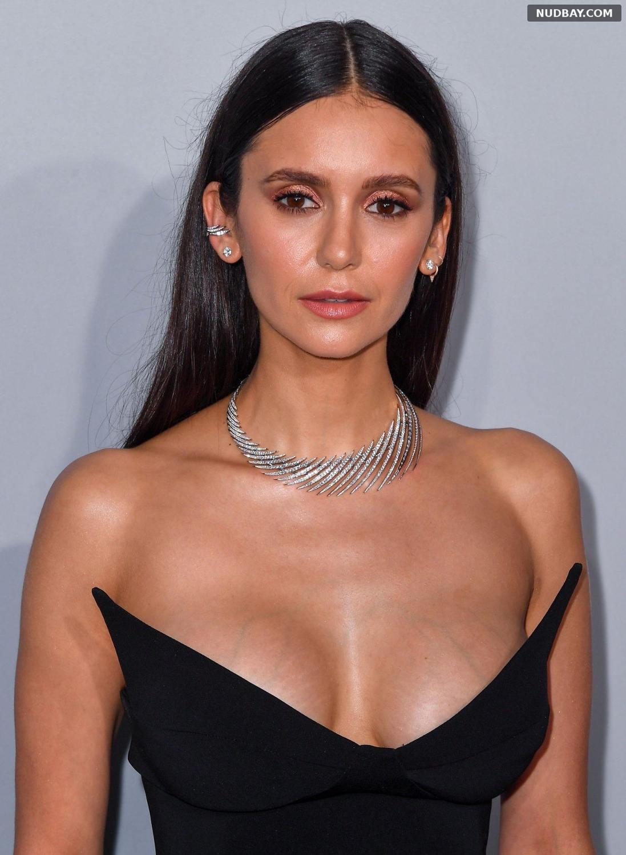 Nina Dobrev Cleavage amfAR Cannes Gala 2021 Jul 16 2021