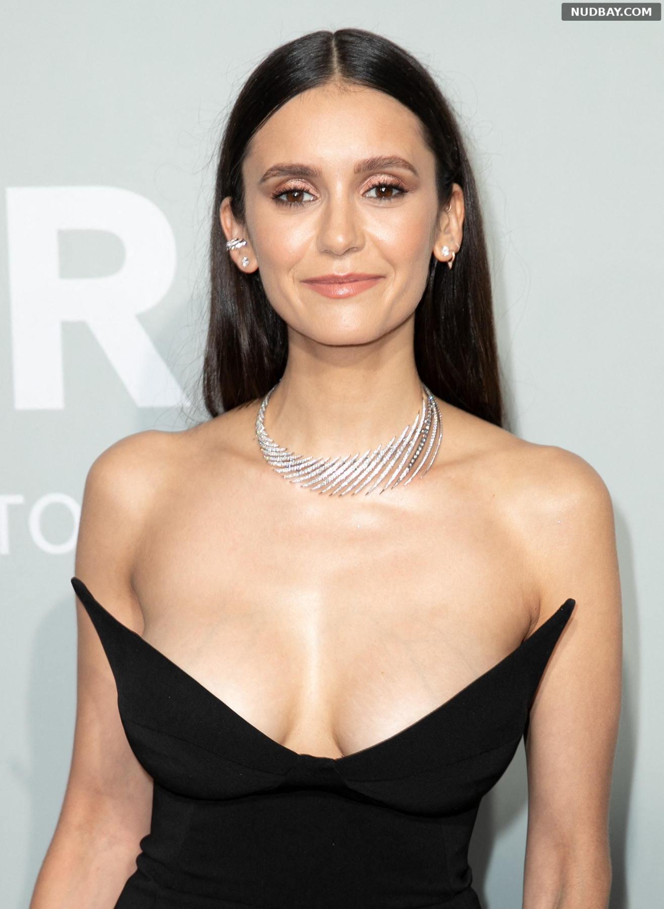 Nina Dobrev nude amfAR Cannes Gala 2021 Jul 16 2021