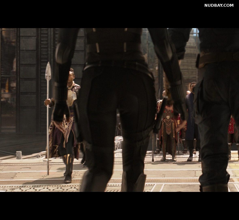Scarlett Johansson Ass in Avengers Infinity War (2018)