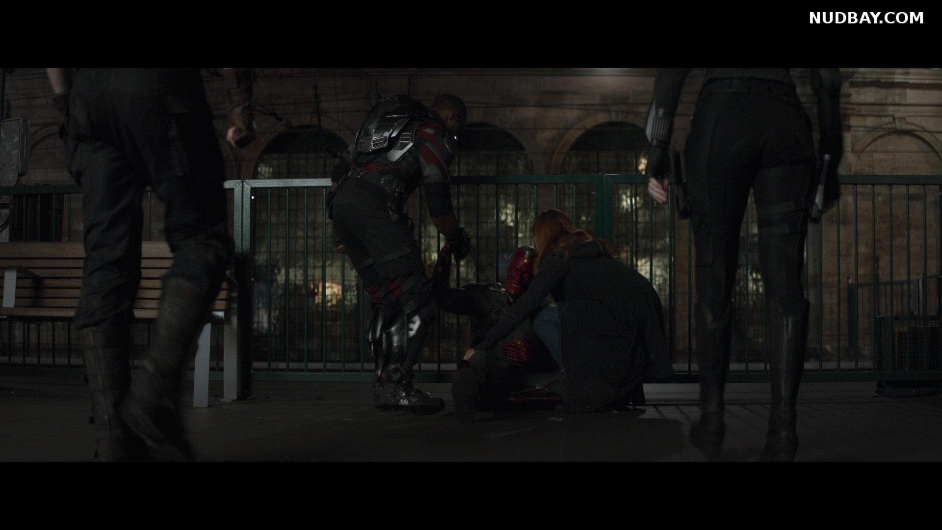Scarlett Johansson Booty in Avengers Infinity War (2018)