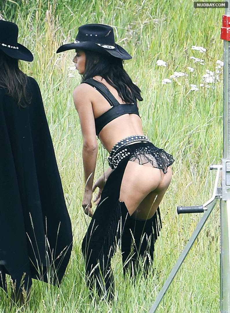 Adriana Lima Bare Ass at Victoria's Secret Holiday catalog in Aspen Aug 15 2017
