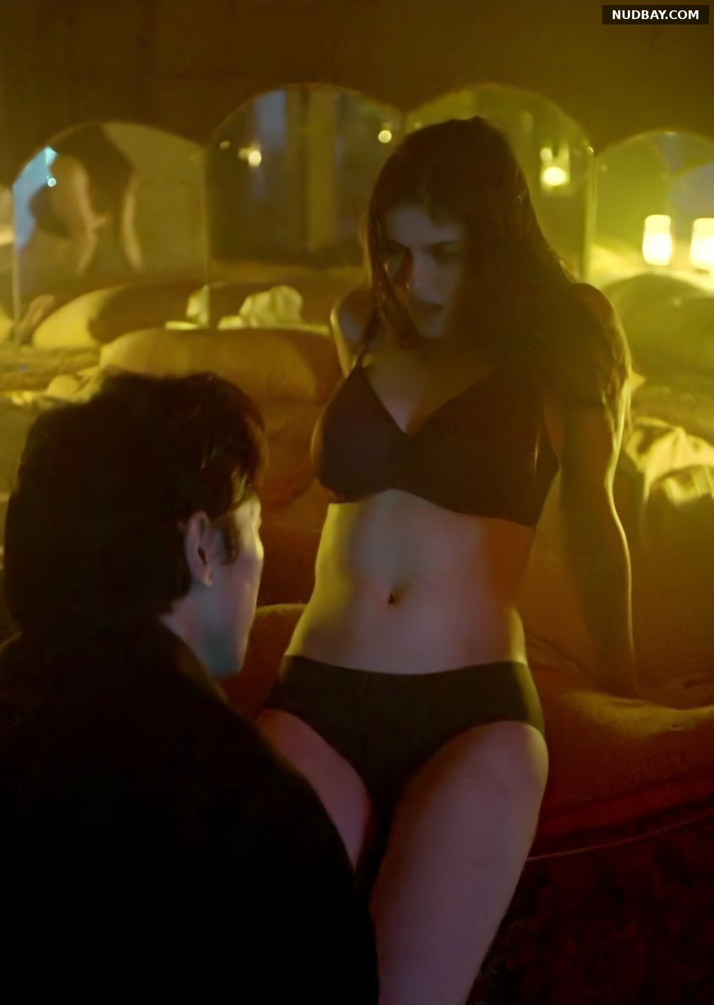 Alexandra Daddario nude Lost Girls and Love Hotels (2020)