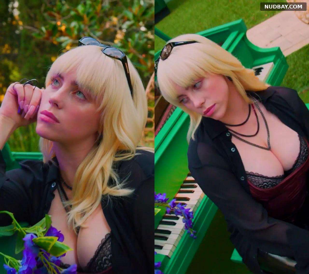 Billie Eilish nude most perfect night Jul 30 2021