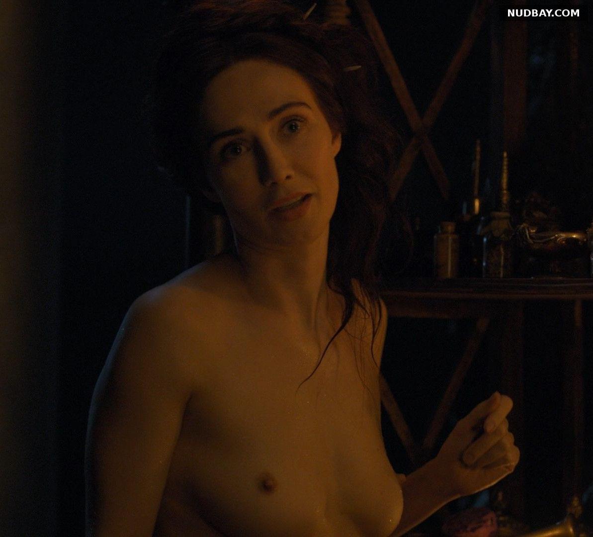 Carice van Houten naked Game of Thrones S04E07