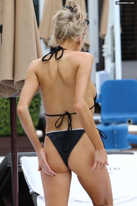 Charlotte McKinney Ass on the Beach Miami Dec 07 2019