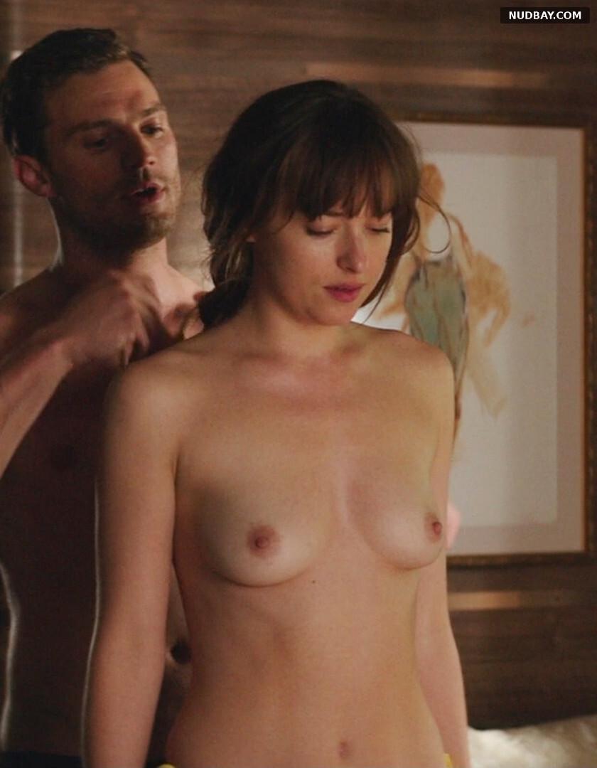 Dakota Johnson nude in Fifty Shades Freed (2018)