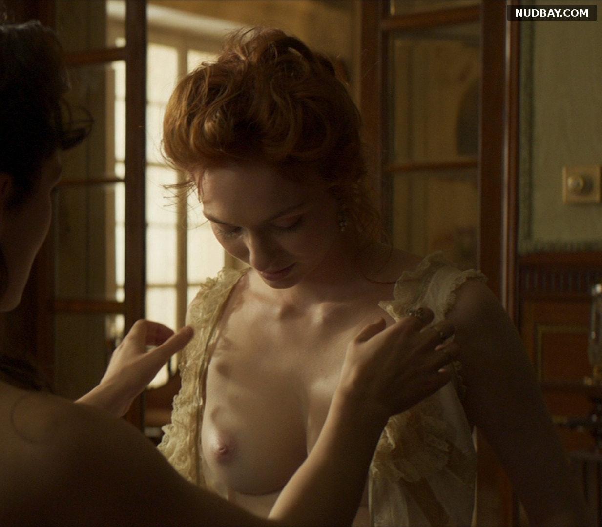 Eleanor Tomlinson nude in Colette (2018)