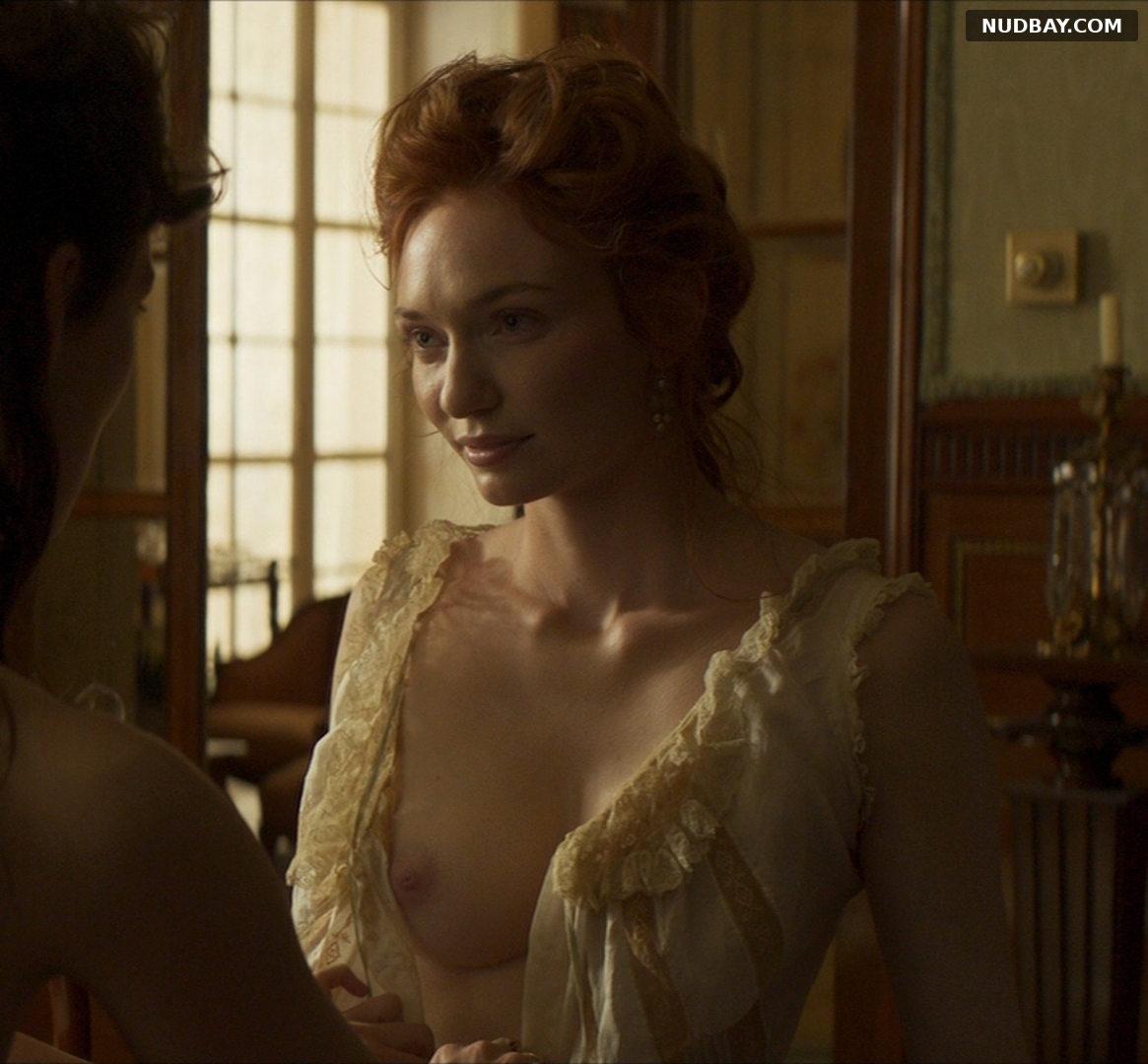Eleanor Tomlinson nude in the movie Colette (2018)
