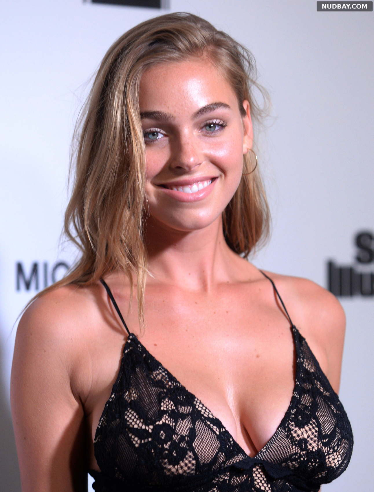 Elizabeth Turner cleavage at Illustrated Fashionable 50 in Hollywood Jul 18 2017