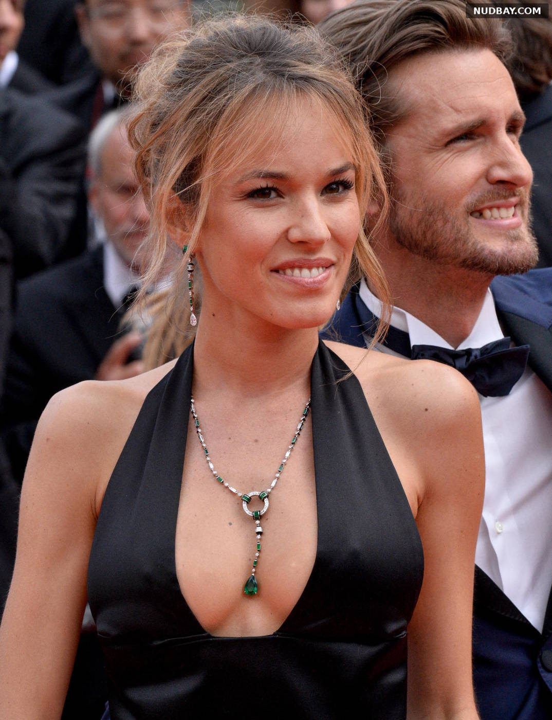 Elodie Fontan cleavage at 72nd Cannes Film Festival May 21 2019