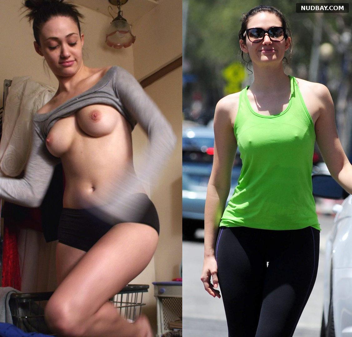 Emmy Rossum Nude in Shameless 01