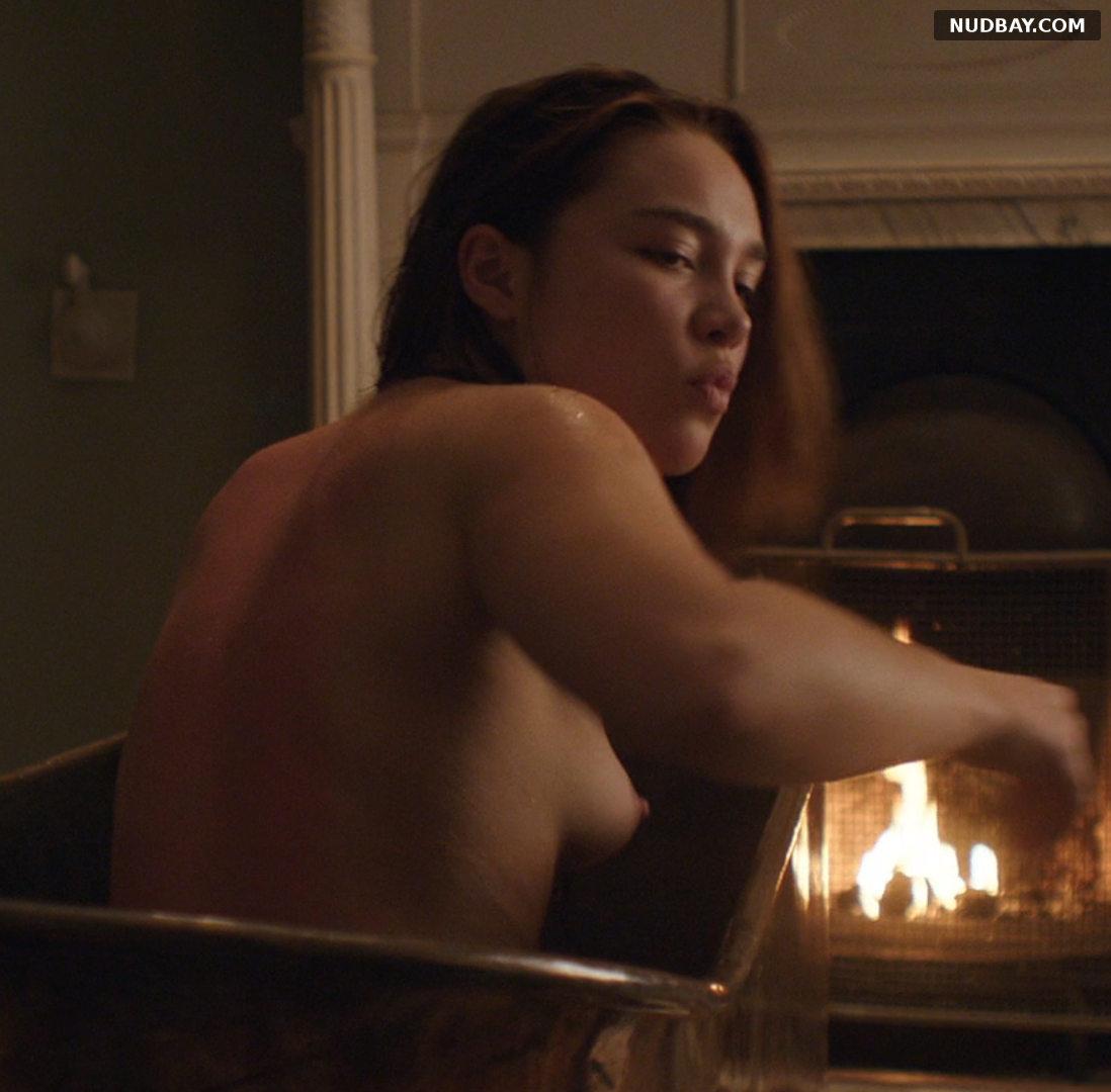 Florence Pugh & Yelena Belova naked boobs in Lady Macbeth (2016)