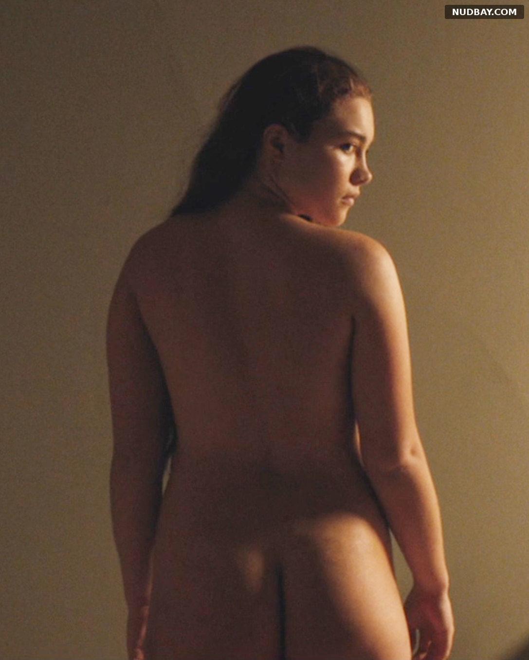 Florence Pugh Yelena Belova nude ass Lady Macbeth (2016)