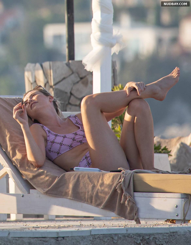 Georgia Toffolo sexy on holiday in bikini in Dubrovnik August 16 2021