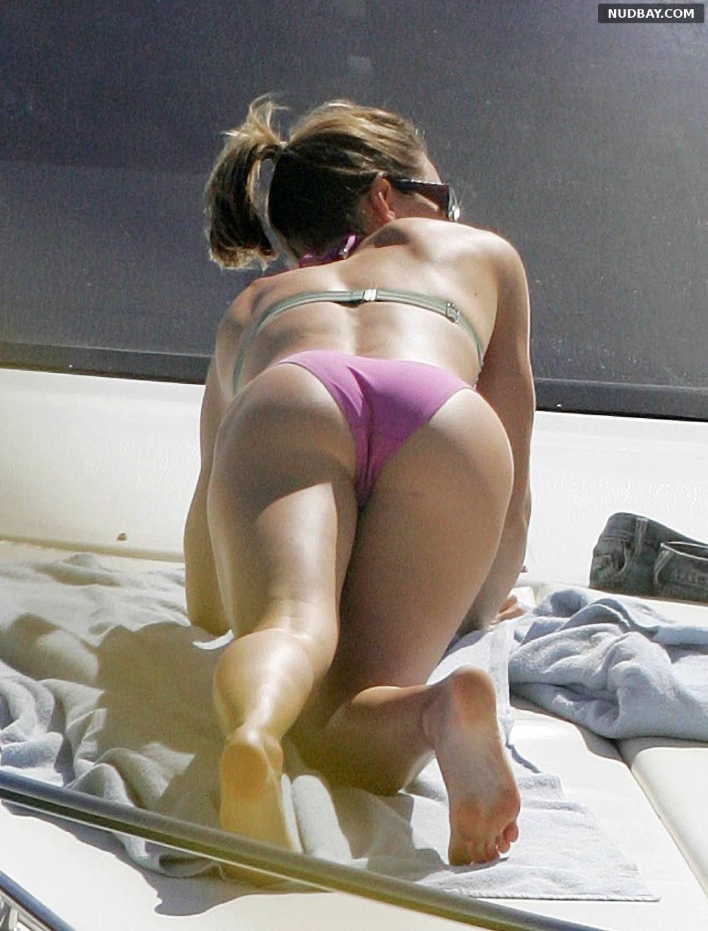 Jessica Biel Ass in Bikini in Puerto Rico Jan 2007