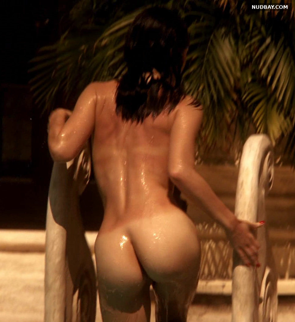 Jessica Marais ass in Magic City s01e01 (US 2012)