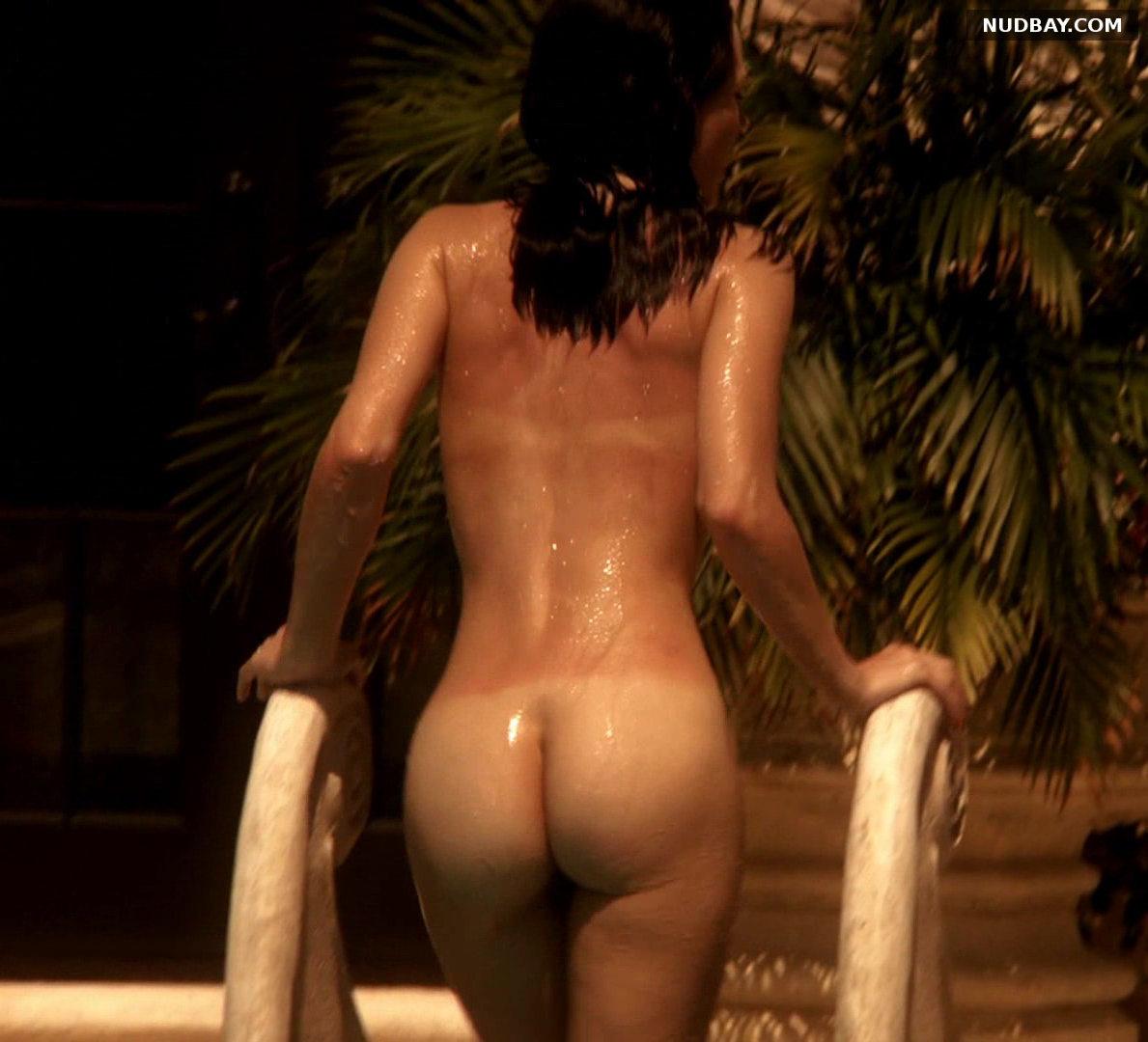 Jessica Marais bare ass in Magic City s01e01 (US 2012)