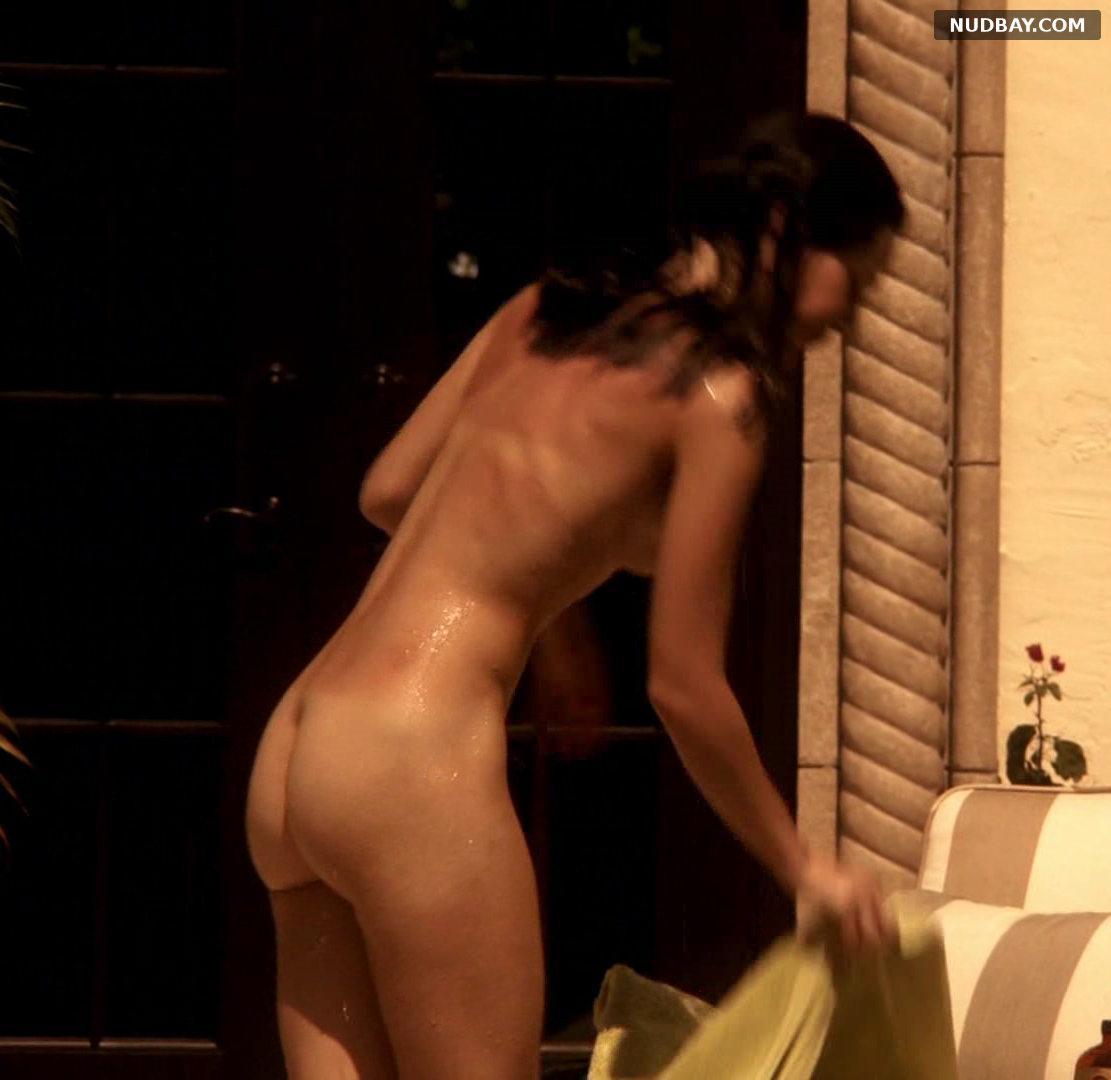 Jessica Marais bare booty in Magic City s01e01 (US 2012)