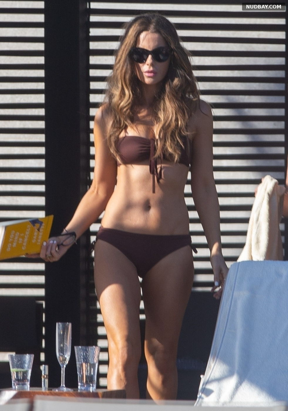 Kate Beckinsale in a bikini while relaxing in Los Cabo Dec 01 2019