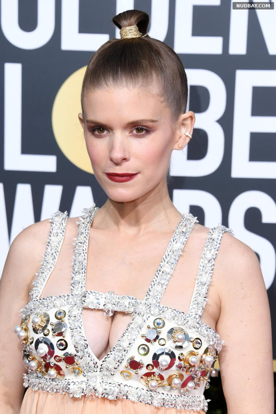 Kate Mara nude at 76th Annual Golden Globe Awards in Beverly Hills Jan 06 2019