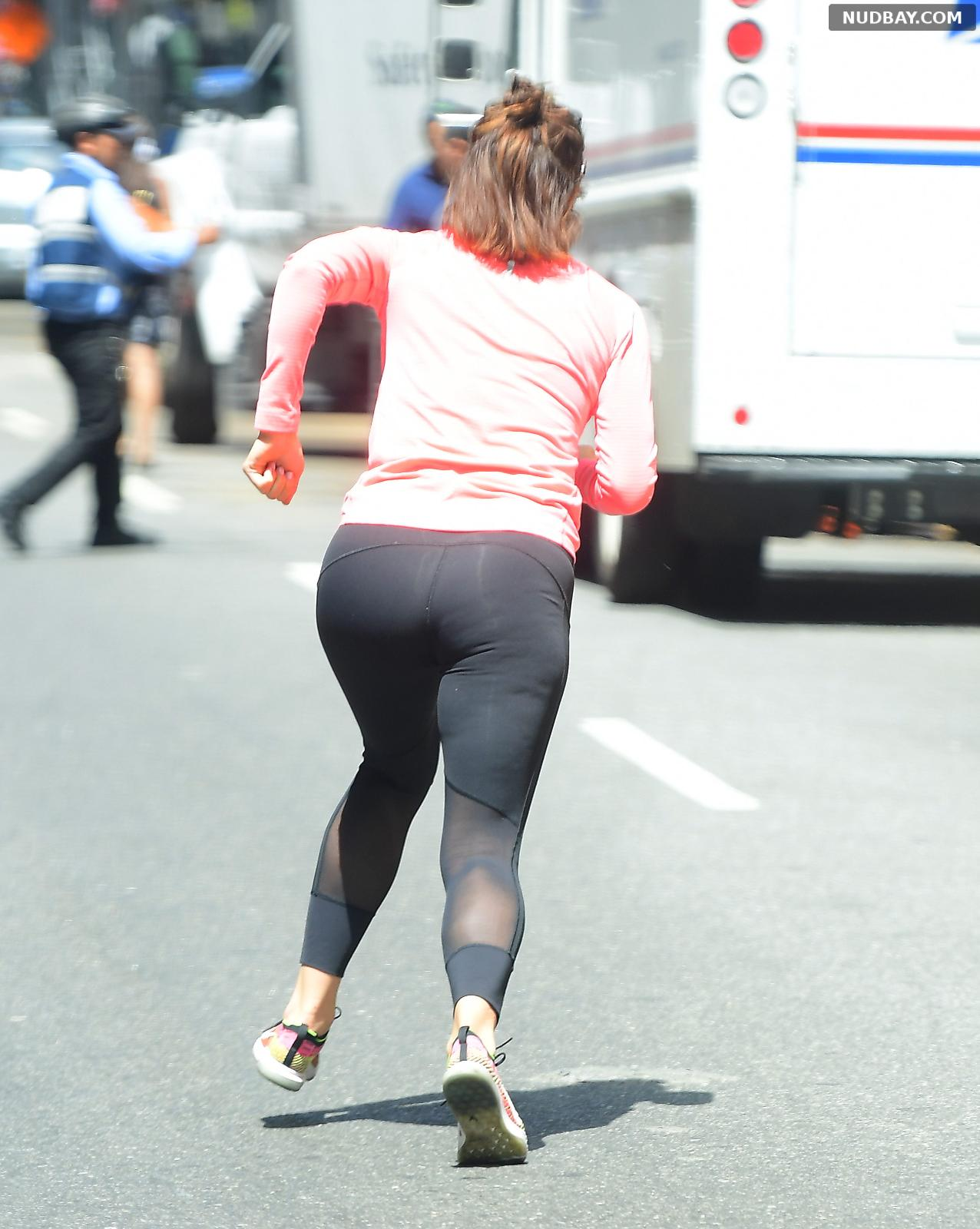 Katharine McPhee Booty out and about in NYC Jul 05 2018