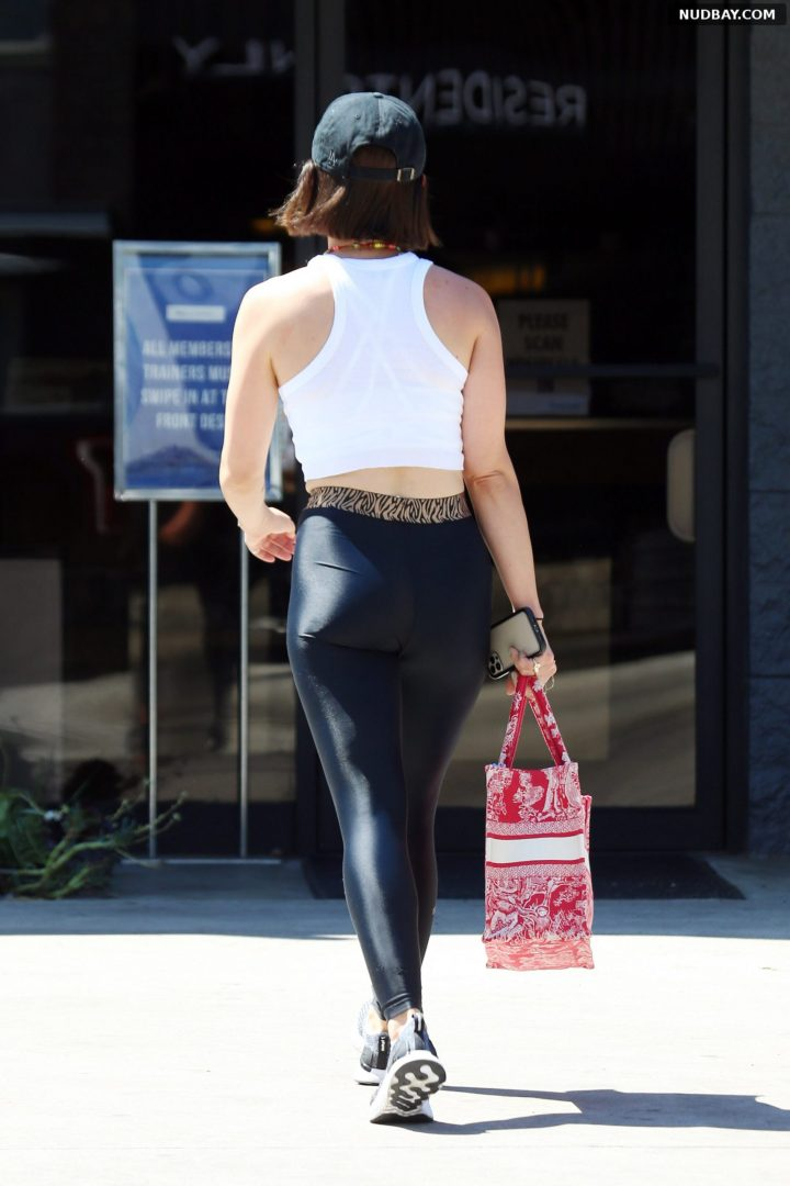 Lucy Hale butt out in Los Angeles Aug 05 2021