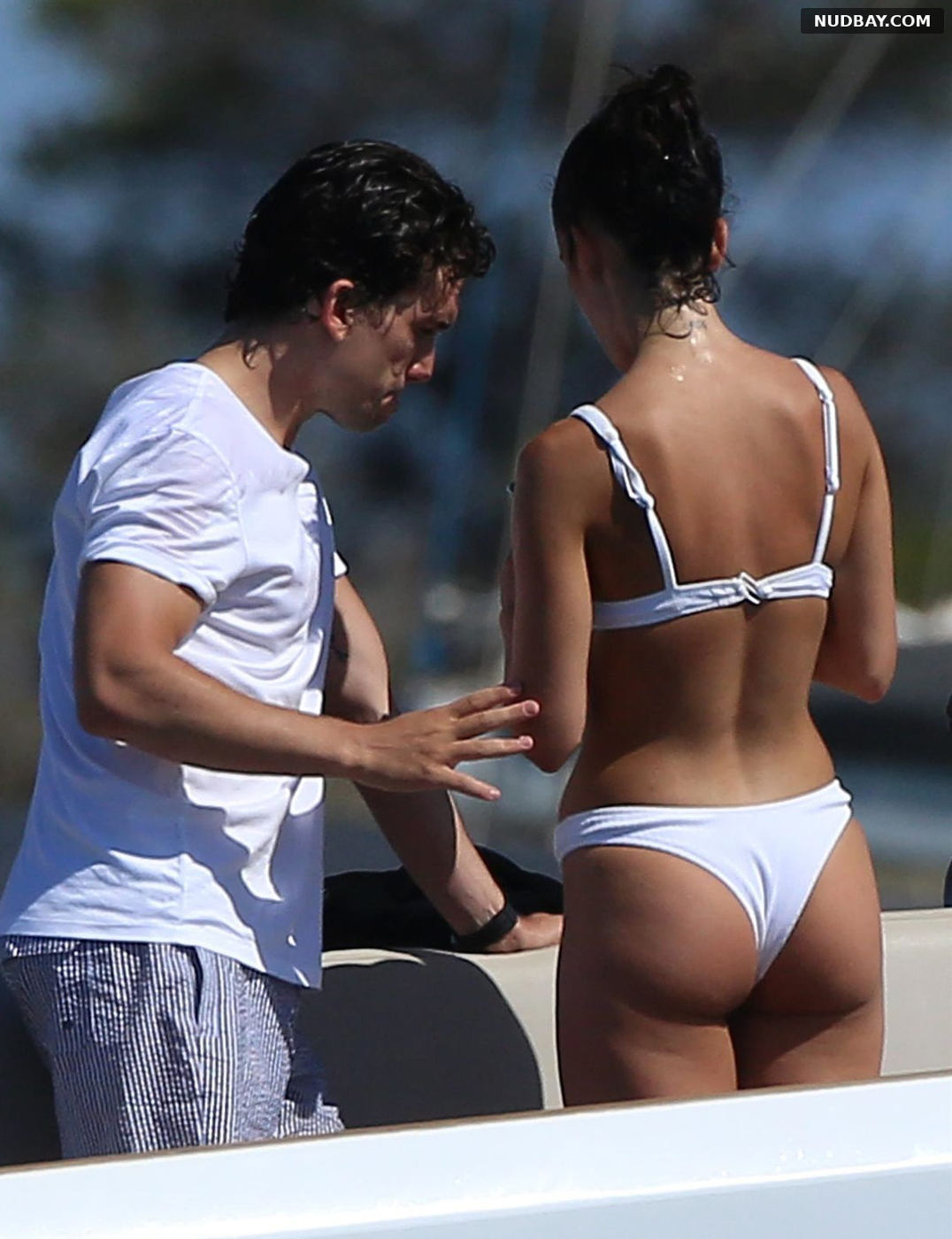 Maria Pedraza Booty on a yacht in Formentera Jul 18 2020