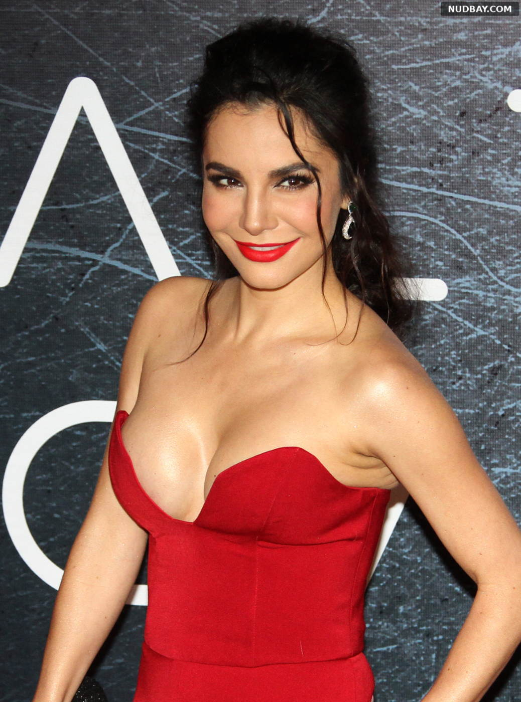 Martha Higareda naked at Altered Carbon TV show photocall Mexico Jan 25 2018