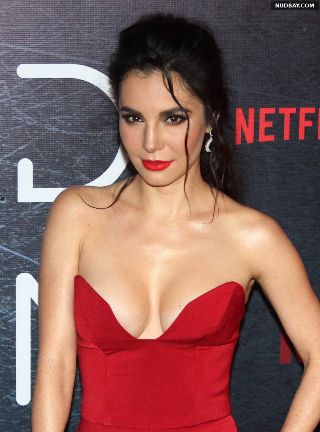 Martha Higareda nude at Altered Carbon TV show photocall Mexico Jan 25 2018