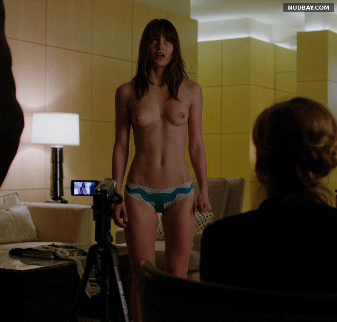 Melissa Benoist nude full in Homeland S01E02 (2011)