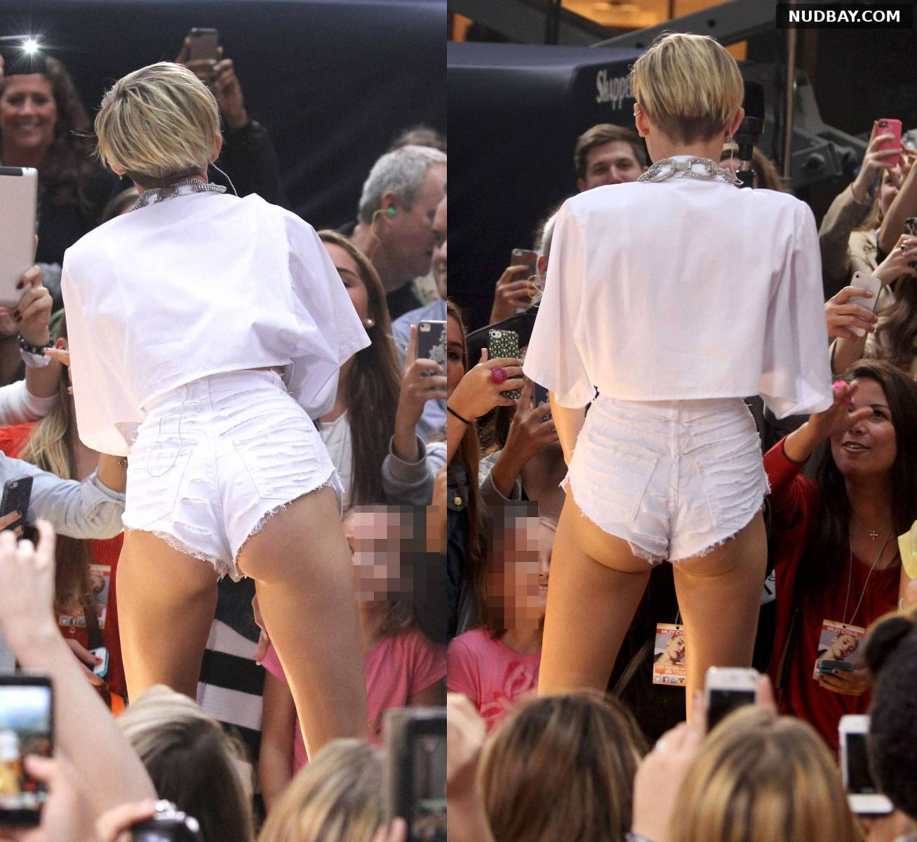 Miley Cyrus Ass performing on the Today show in NYC Oct 07 2013
