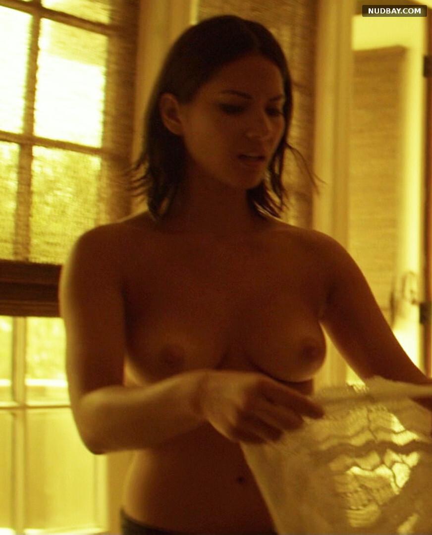 Olivia Munn nude tits in Magic Mike (2012)