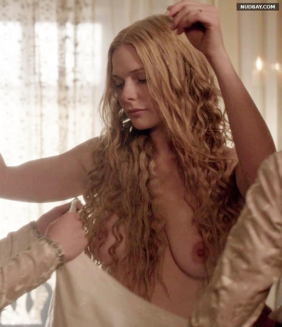Rebecca Ferguson naked in The White Queen (2013)