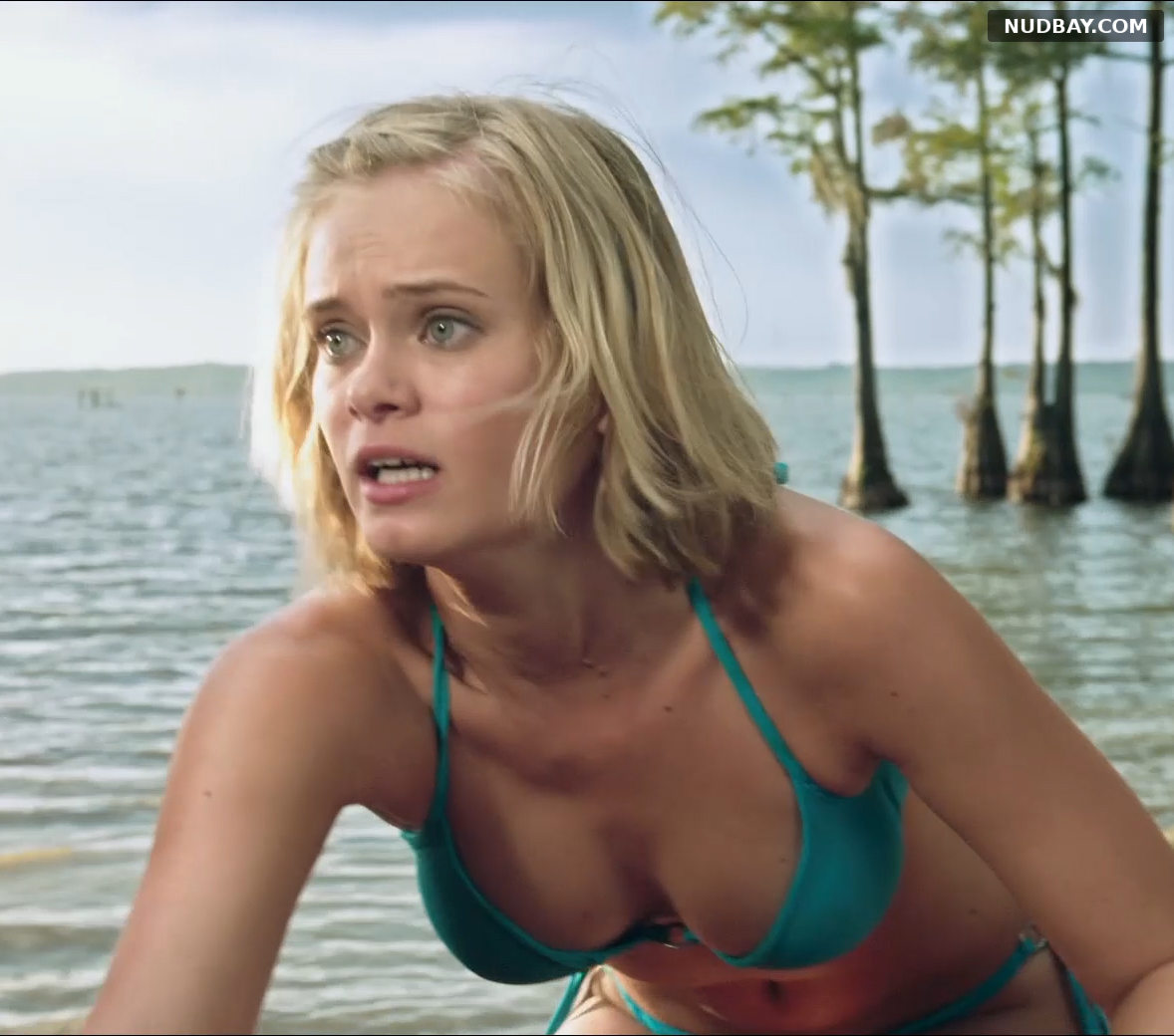 Sara Paxton boobs in Shark Night (2011)