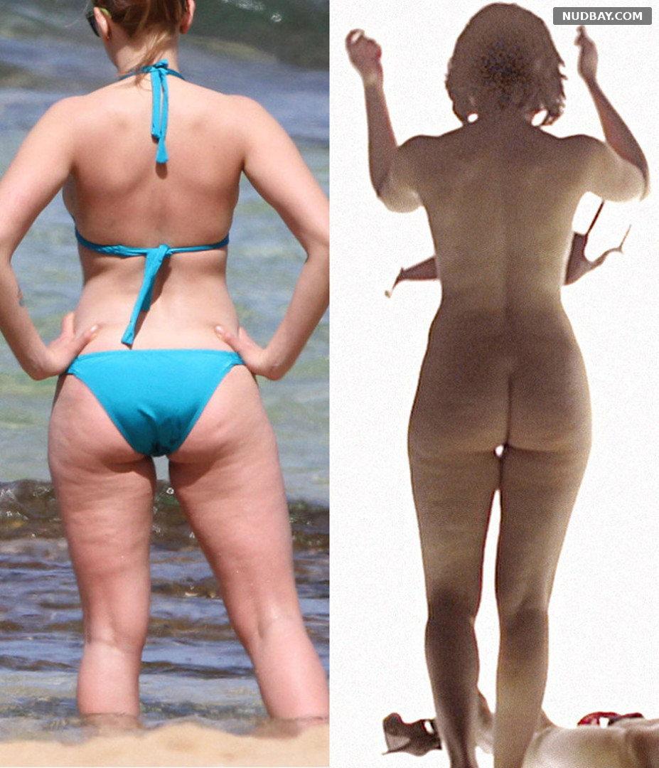 Scarlett Johansson Nude Ass On Off (2020)