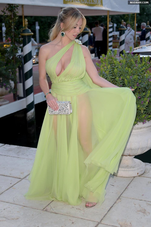 Sydney Sweeney Attends Gabbana event in Venice Aug 28 2021