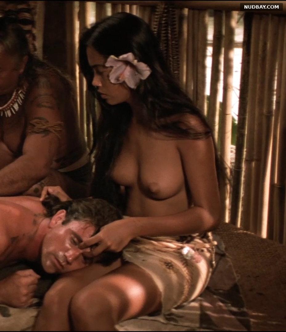 Tevaite Vernette naked in The Bounty (1984)