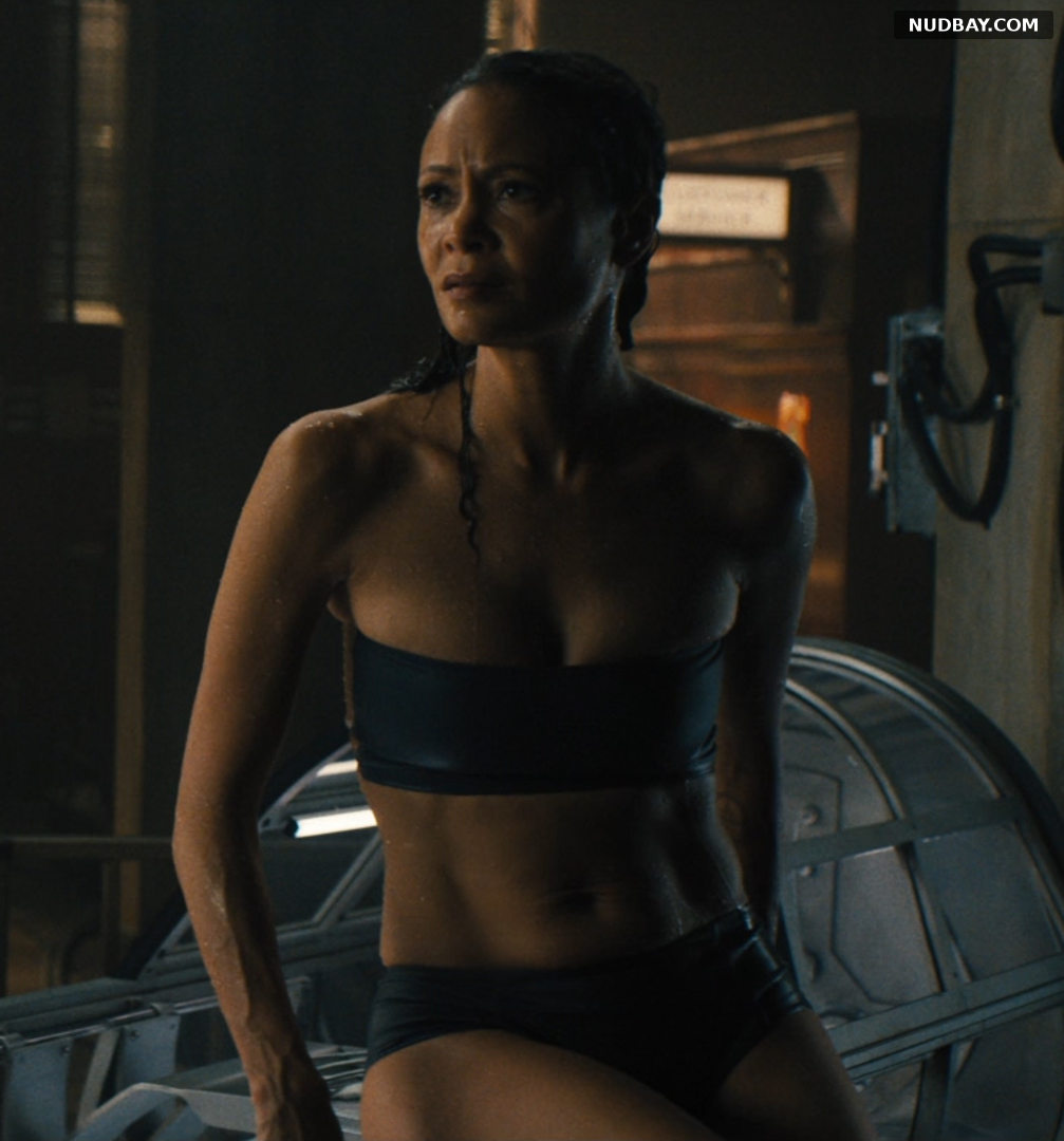 Thandie Newton nude in Reminiscence (2021)