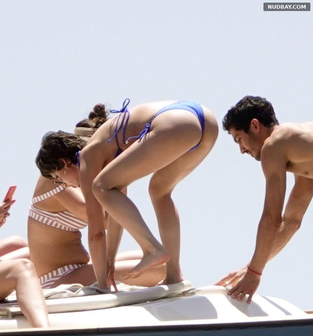 Ursula Corbero pussy on holiday on the island of Capri Jun 14 2019