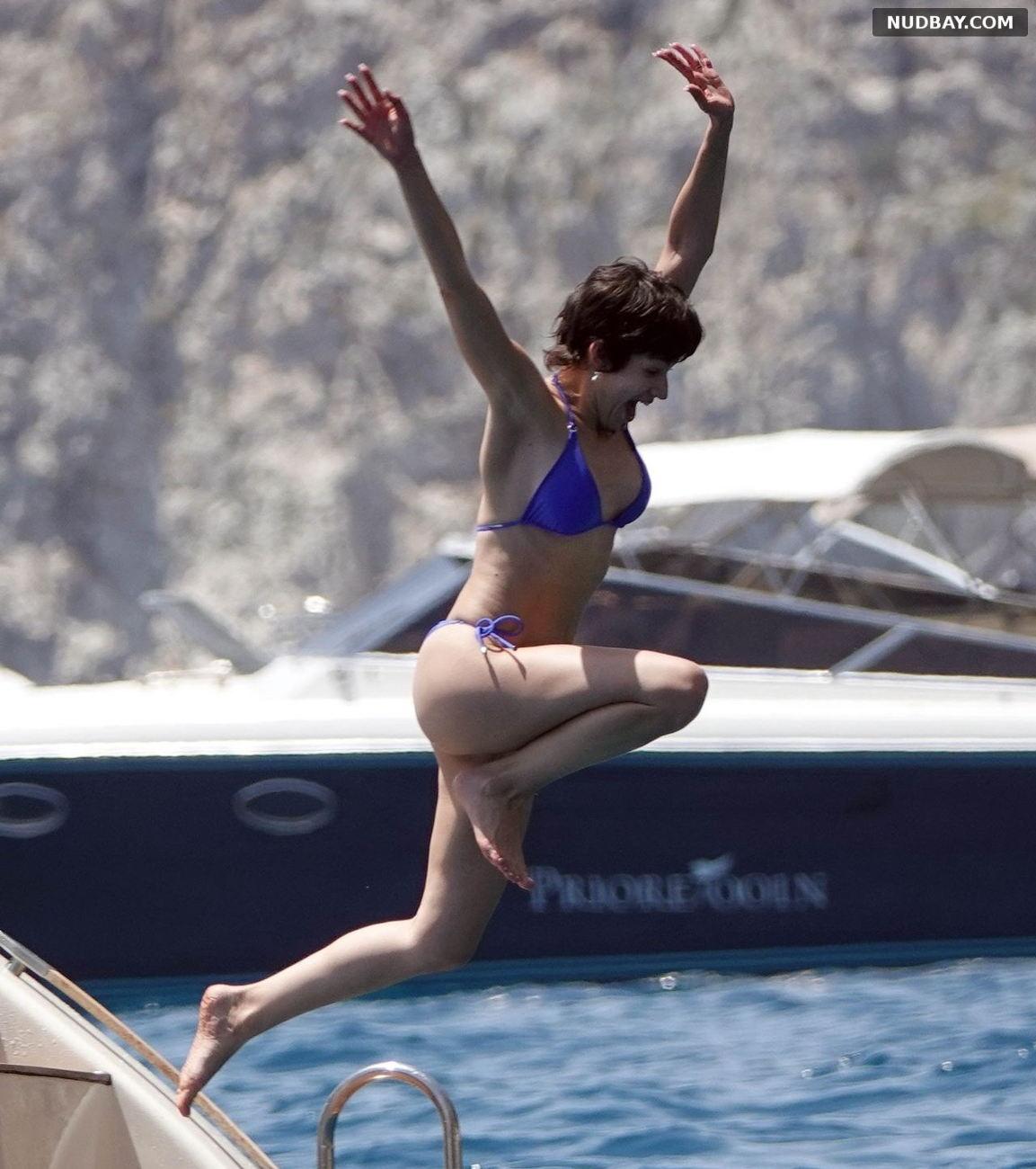 Ursula Corbero sexy on holiday on the island of Capri Jun 14 2019