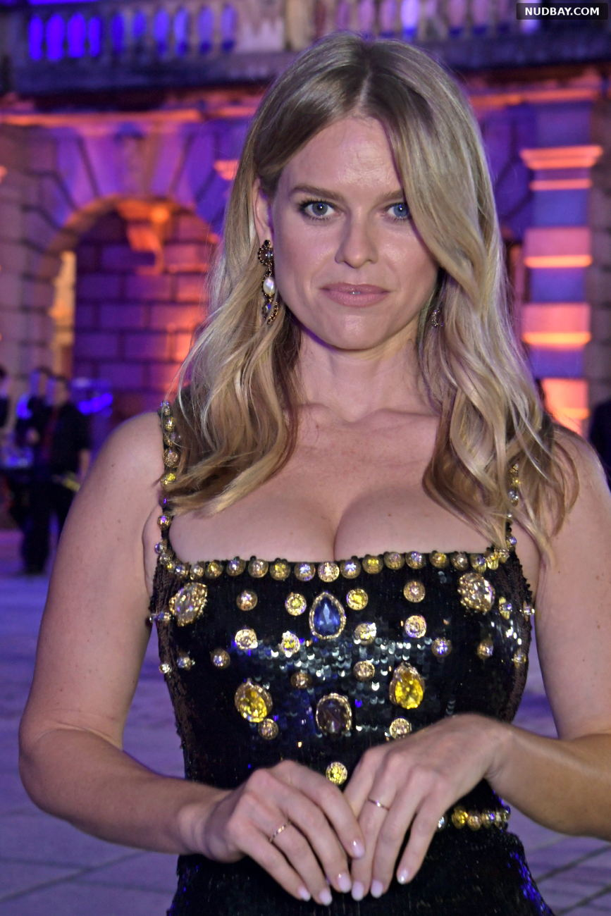Alice Eve Cleavage at Royal Academy of Arts Summer Exhibition Preview Party in London Sep 14 2021