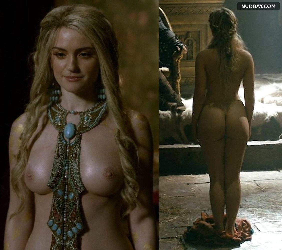 Alicia Agneson Nude in TV series Vikings 2021