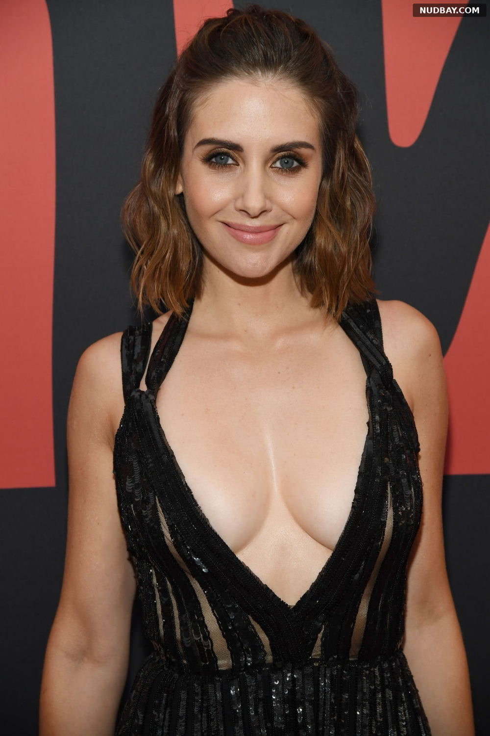 Alison Brie nude at MTV VMAs in Newark New Jersey Aug 26 2019
