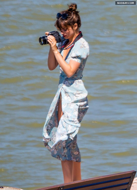 Ana de Armas Upskirt out in New York August 07 2016