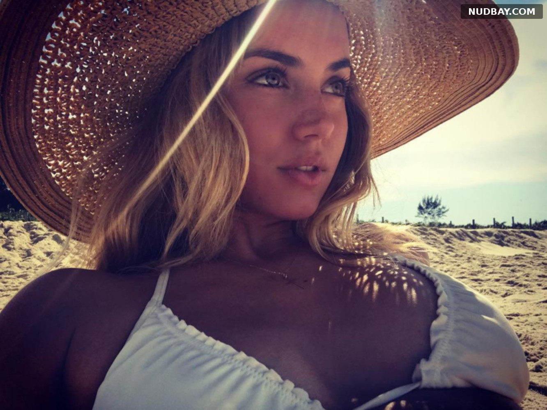 Ana de Armas wears a bikini on vacation 2021