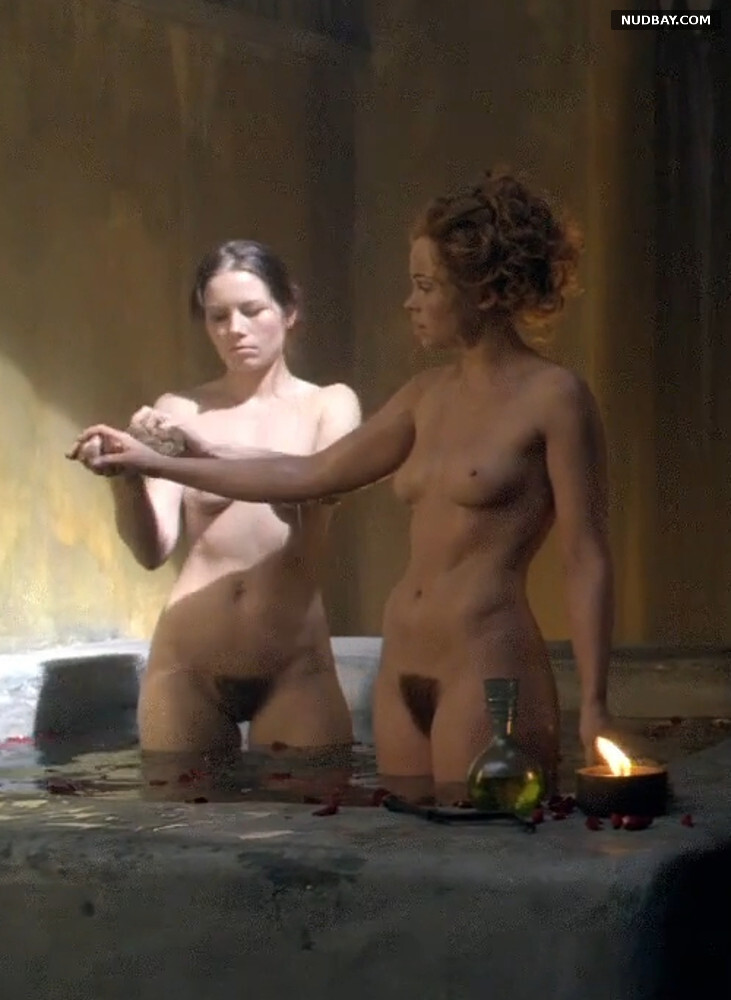 Anna Hutchison nude in Spartacus (2013)