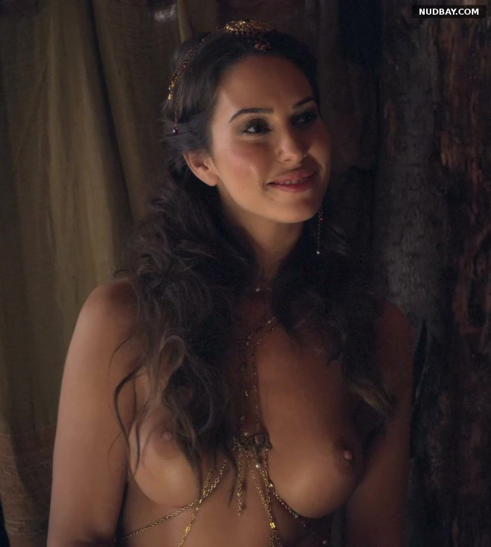 Ayse Tezel nude in Spartacus (2013)