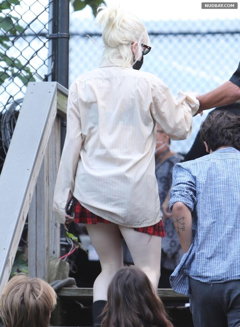 Billie Eilish leaving Global Citizens Festival in Central Park Sep 25 2021